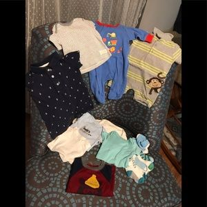 Baby Boy's assorted clothing